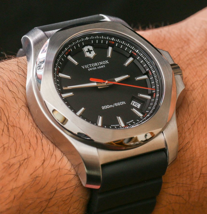 victorinox watches inox review