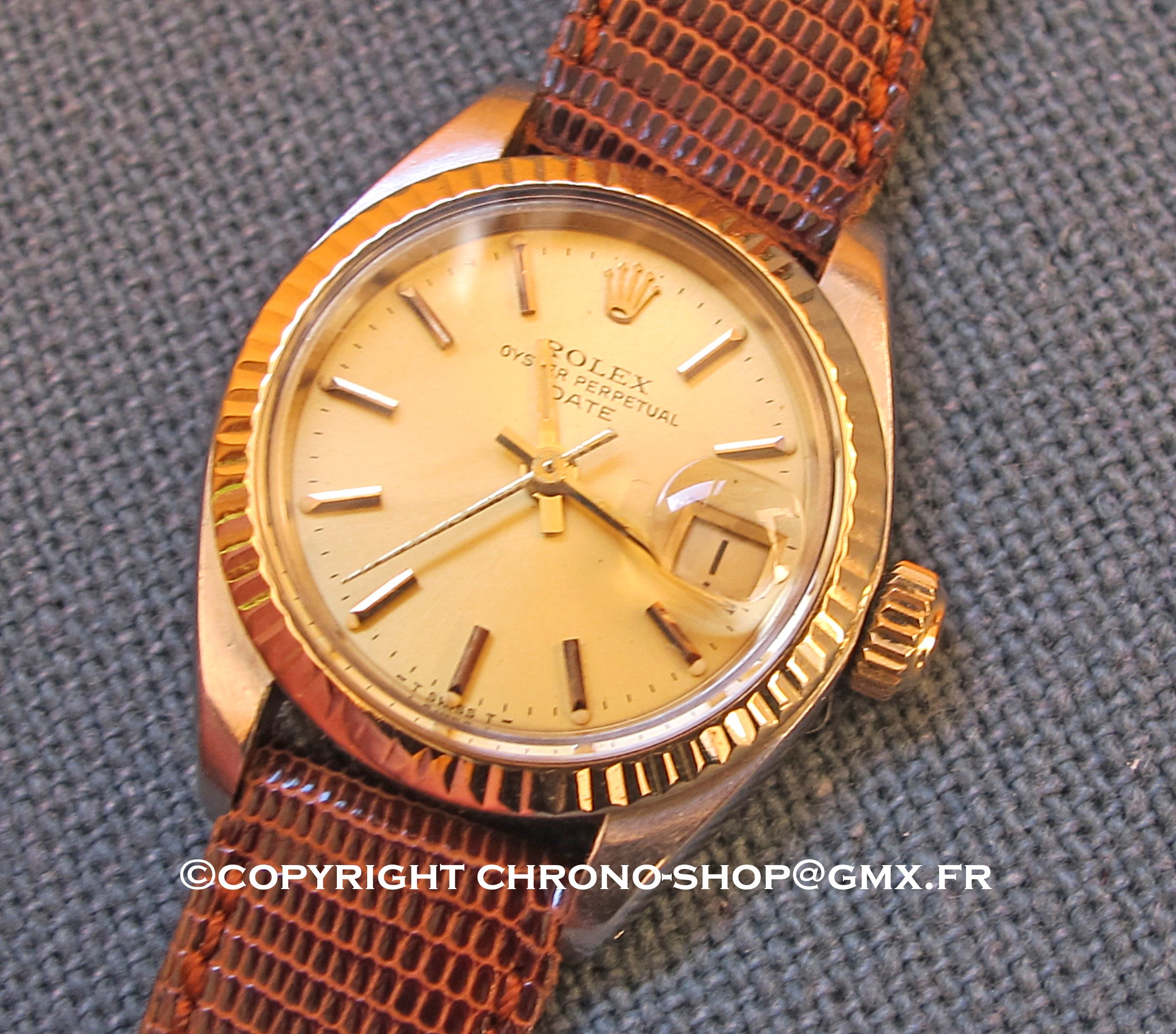 rolex oyster perpetual lady date 6917